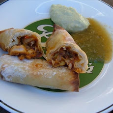 Spicy Southwest Egg Rolls