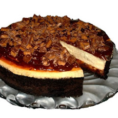 Toffee Chunk Cheesecake