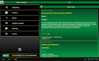 Screenshot of Bet on Green