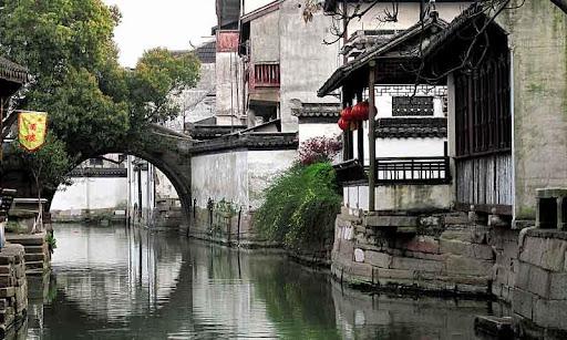 风景拼图-中国古镇