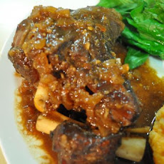 Lamb Shanks in Five Spice, Tamarind & Ginger