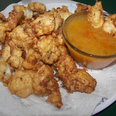 Sesame Chicken Nuggets With Sweet Sauce