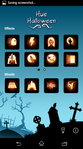 Hue Halloween - screenshot
