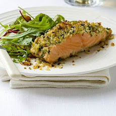 Parmesan & Parsley-crusted Salmon
