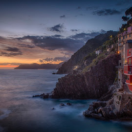 Evening in Cinque Terre by John Einar Sandvand - Landscapes Travel