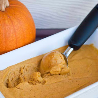 Clean Eating Pumpkin Ice Cream