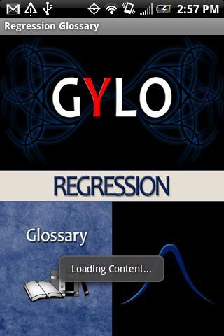 Regression Glossary