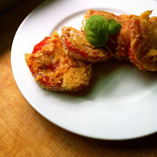 Vegan Cornmeal-Crusted Fried Tomatoes