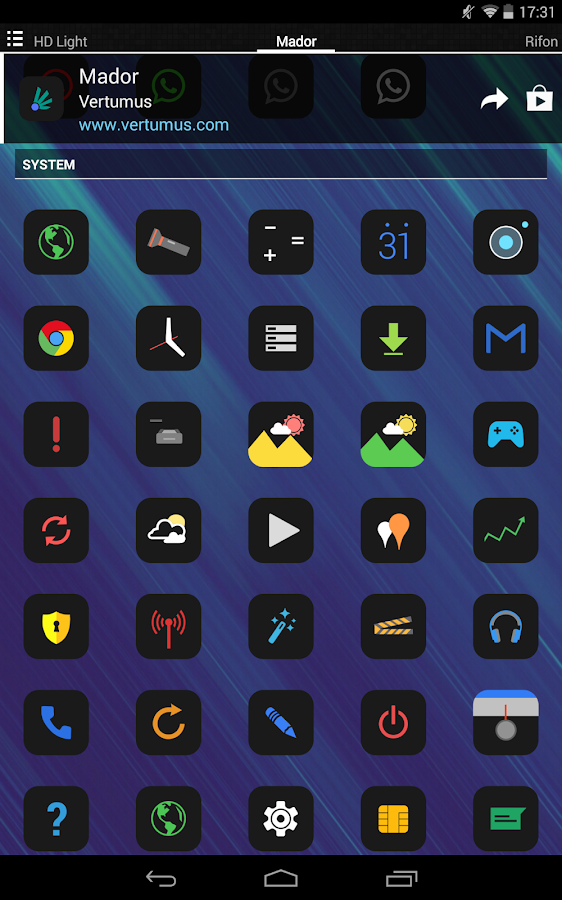 Mador - Icon Pack Screenshot 9