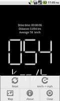 Screenshot of Digital Speedometer Free