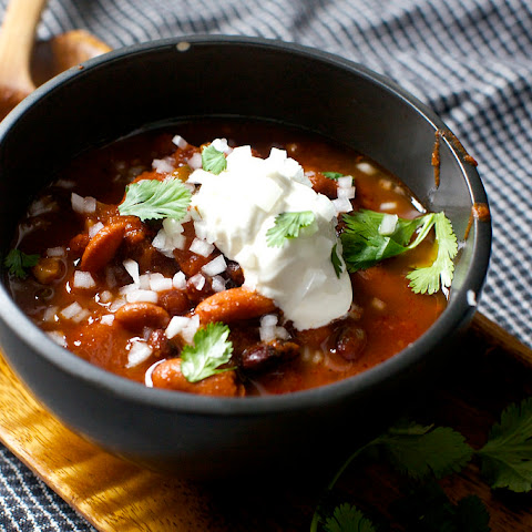 10 Best Pressure Cooker Vegetarian Chili Recipes | Yummly