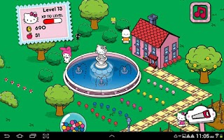 Screenshot of Hello Kitty Happy Town