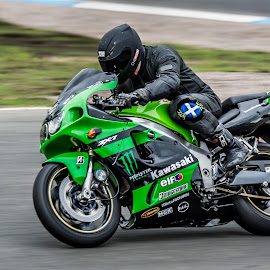 Kawasaki by Sam Smith - Sports & Fitness Motorsports ( bike, motorbike, racing, knockhill, kawasaki )