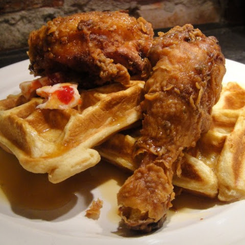 Melba Wilson's Southern Fried Chicken and Eggnog Waffles
