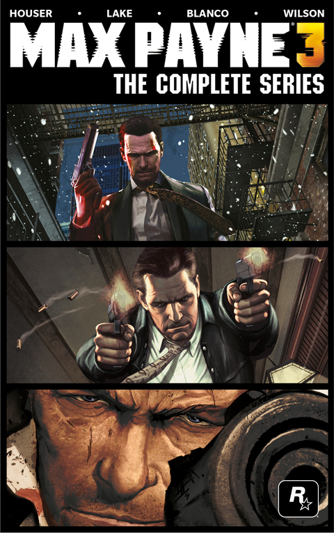 Max Payne 3 graphic novel coming this October