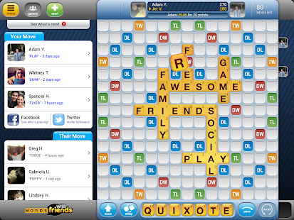 Game Words With Friends Classic APK for Kindle
