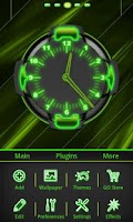 Screenshot of Neon Green Style Go Launcher