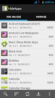 Screenshot of Disable Bloatware - Hide Apps