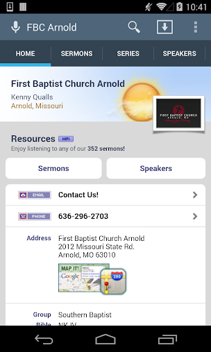 First Baptist Church Arnold APK