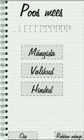 Screenshot of Poomine - Sõnade mäng
