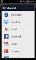 Screenshot of Mobile network Observer