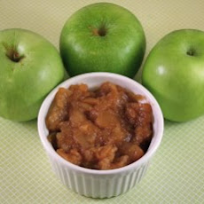 Chunky Cinnamon Applesauce Made In The Slow Cooker