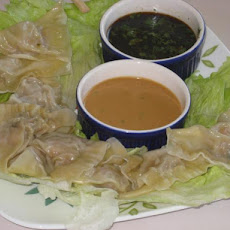 Steamed Shrimp Dumplings or Pot Stickers