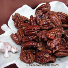 Cinnamon-Coffee Pecans