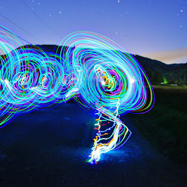by Ryan Chornick - Abstract Light Painting