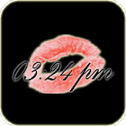 Kiss Clock icon