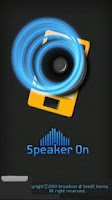 Screenshot of SpeakerOn