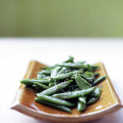 Snap Peas with Mint