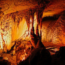 Wollondilly Cave by Vanessa Sapsford - Landscapes Caves & Formations ( cold, dark, cave, wollondilly cave )