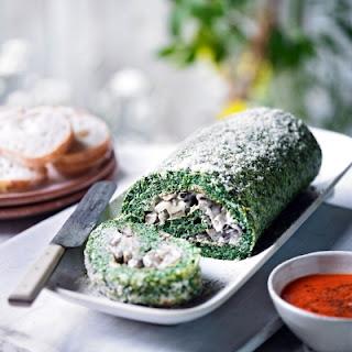 Mushroom Spinach Roulade Recipes
