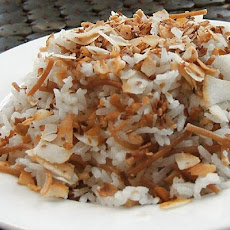 Lemongrass Infused Coconut Jasmine Rice Pilaf