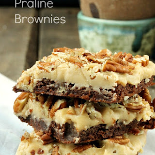 Praline Brownies