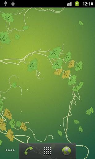 玩個人化App|長春藤專業版動態桌布 Ivy Leaf免費|APP試玩