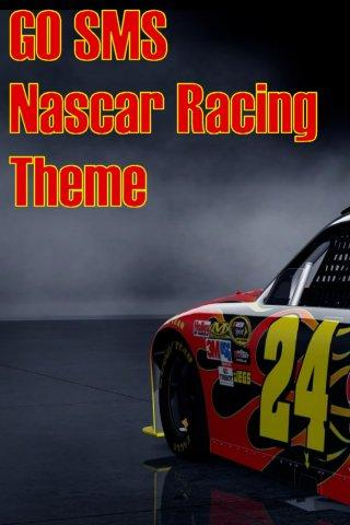 Nascar Racing GO SMS Theme