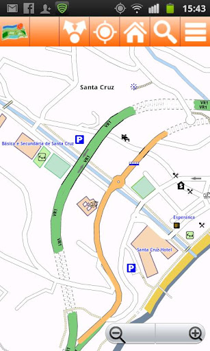 Madeira Offline mappa Map