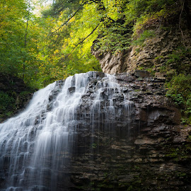 Tiffany Falls by Jack Brittain - Landscapes Waterscapes ( water, canada, falls, ontario, hamilton, tiffany )