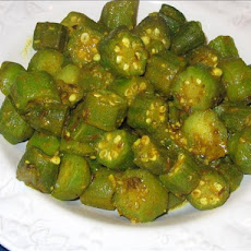 Madhur Jaffrey's Sweet and Sour Okra