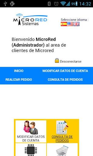 MicroRed Clientes