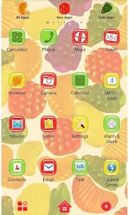 Candy Fruits for[+]HOME - screenshot