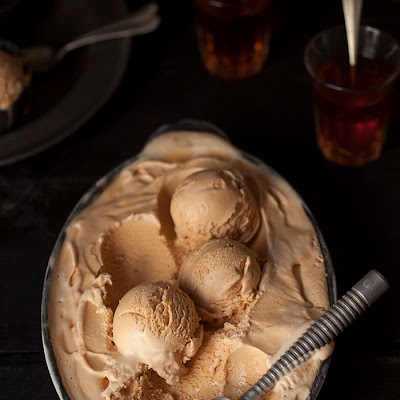 Rooibos Tea Ice Cream