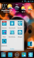 Screenshot of ImagineHD Blue Apex/Nova Theme