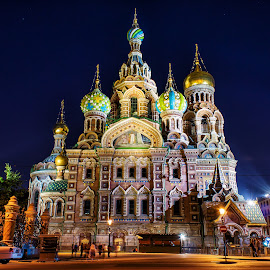 Church of the Savior on Spilled Blood by Michael Wiejowski - Buildings & Architecture Public & Historical ( griboedov, russia, europe, church, rosja, travel, церковь, st. petersburg,  )