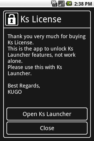 Ks License