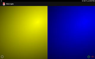 Screenshot of Police Lights