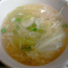 Corn and Egg Flower Soup