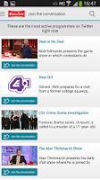 Screenshot of Freeview TV Guide